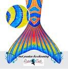 Zeemeermin-staart-schubben-Carnaval