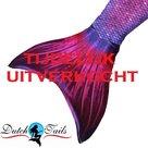Zeemeermin-staart-schubben-paars