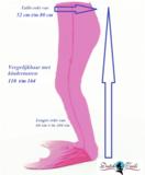 Zeemeermin staart sparkel roze_