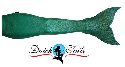 Dutch Tails sparkel zeemeerminstaart groen