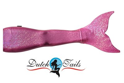 Dutch Tails sparkel zeemeermin staart roze
