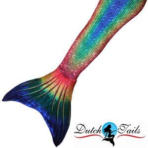Dutch Tails zeemeermin staart schubben regenboog