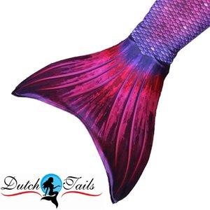 Dutch Tails zeemeermin staart schubben paars