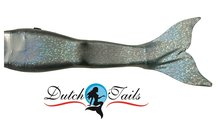 Dutch Tails sparkel zeemeermin set zilver