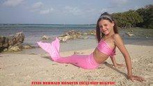 Dutch Tails sparkel zeemeermin set roze